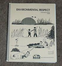 Safari Club International SCI Environmental Respect Curriculum Activity Guide