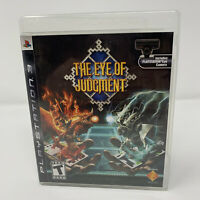 The Eye of Judgment Sony PlayStation 3 PS3 Game Complete With Manual Tested