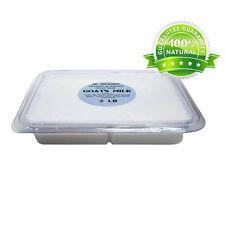 2 Lb Tray Goats Milk Glycerin Melt & Pour Soap Base Organic Free Shipping