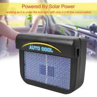 Solar Powered Car Auto Window Air Vent Cooling Fan Ventilation Cooler Radiator