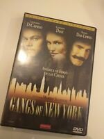 Dvd  Gangs of new york  con di caprio y d day lewis  coleccionistas