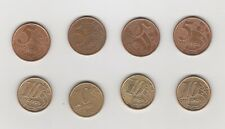 5 und 10 Cent Brasilien    8 Münzen siehe scan    (2675)