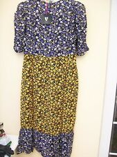Boho Style Midi Dress Size 16 New With Tags