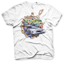 Officially Licensed Back To The Future Part Ii Vintage Men's T-Shirt (S-Xxl)