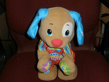 Fisher Price Laugh and Learn Dog, play games, sing songs, lots of learning   T