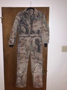 Youth Camo Insulated Hunting Coveralls Game Winner Large Boy Girl Camafloge