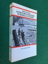 Emilio SALGARI - AVVENTURE DI PRATERIA GIUNGLA MARE Einaudi Scuola (1973) Libro