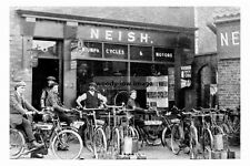 pt4012 - Walter Neish Cycle Shop , Stainforth , Yorkshire - photo 6x4