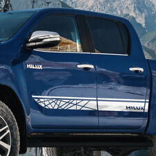 Toyota HILUX 2016 TRD graphics Side stripe decal