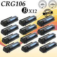 12 PK Black Toner For Canon 106 ImageClass MF6500 6530 6531 6550 6560 6580 6590