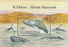 Timbre Faune marine Baleines Ste Hélène BF7 ** lot 21756