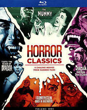 Horror Classics, Volume One Collection Blu-ray brand new