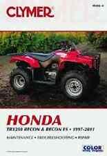 CLYMER SERVICE REPAIR MANUAL M446-4 HONDA TRX250 RECON S TRX250TM 1997 98 99 00