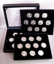 "MGM * USA Kollektion ""30 Jahre American Eagle"" 30x 1 Unze Silber, Etui + Zertif."