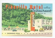 Pikeville KY Roadside Motel—Pike County Rare Vintage PC 1950s