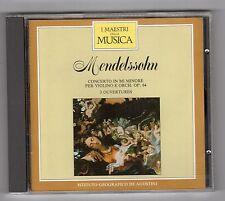 CD -  I MAESTRI DELLA MUSICA DEAGOSTINI MENDELSSOHN VOLUME II N. 15