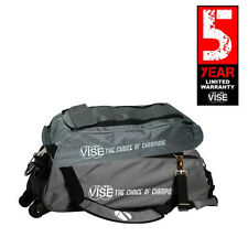 Vise Gray 3 Ball Tote Bowling Bag With Shoe Pouch