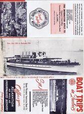Quebec Waterways Sightseeing Tours, Boat Trips Brochure
