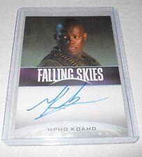 Falling Skies Season 2 Premium Pack Mpho Koaho Autograph Trading Card
