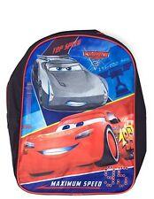 "Disney Cars 15"" Backpack Lightning McQueen School Bag"