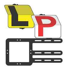 "Learner and Provisional Driver ""Rippa"" Pack L and Red P Plate - Clip Plate"