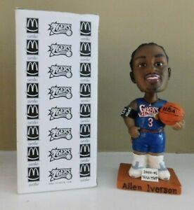 Allen Iverson Bobblehead  - Blue Uniform - 2000-01 NBA MVP Bobble Head New