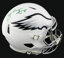 Zach Ertz Signed Philadelphia Eagles Speed Authentic White Matte NFL Helmet