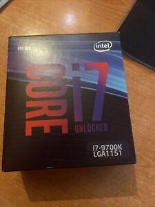 CPU Intel Core i7 9700k 3.6 GHz 8 core