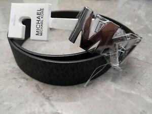 Michael Kors Signature Logo Belt with reversible MK Logo Size XL EXTRA LARGE