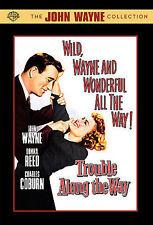 Trouble Along the Way (DVD, 1953, B&W) John Wayne, Donna Reed, Charles Coburn LN