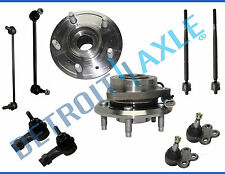2007 Chevy Equinox Pontiac Torrent 10pc Front Wheel Hub & Bearing Suspension Kit