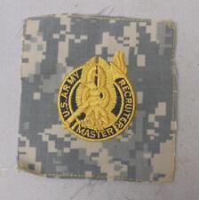 Genuine ACU US Army MASTER RECRUITER Cloth Uniform Badge