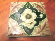 BEAUTIFUL FLORAL VICTORIAN TILE