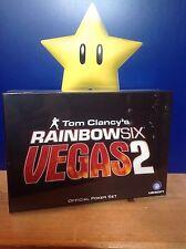 Tom Clancy's Rainbow Six Vegas 2 Official Poker Set *Brand New*