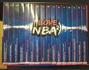 BOX COFANETTO 32 DVD ORIGINALI I LOVE NBA 2 BASKET CON 16 PARTITE INTEGRALI NEW