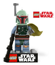 Lego genuine Star Wars Minifigure Boba Fett with Weapon - Rare - Brand new