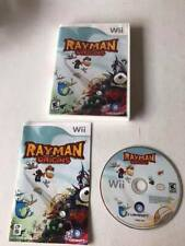 RAYMAN ORIGINS - Nintendo Wii Game Console - w/ Case, Manual