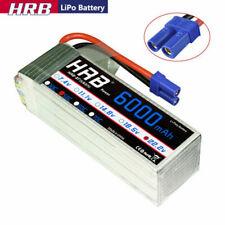 HRB 22.2V 6S 6000mAh LiPo Battery 50C EC5 for RC Helicopter  Airplane Boat
