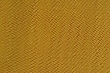 Honey Yellow Nylon Netting / Tulle 136cm Wide