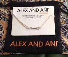 New ALEX AND ANI Skeleton Key Pendant Necklace Providence Sterling Silver