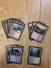 Magic The Gathering Cards - Torment - Tainted Lands x 11