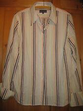 Marc O Polo Herren Hemd Gr.44 getragen bunt-gestreift gepflegt