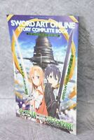 SWORD ART ONLINE Story Complete Book Art Illustration Booklet Ltd