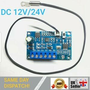 DC Fan Temperature Control Governor PWM Chassis Fan Speed Regulator 12V 24V 2A