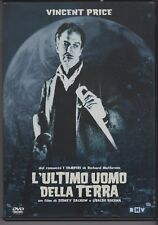 L'ULTIMO UOMO DELLA TERRA di Ubaldo Ragona con VINCENT PRICE - DVD