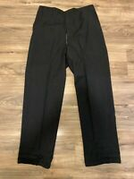 Vintage 1950s-1960s Rockabilly Pinstripe Drop Loop Trousers Pants 33x30 Talon
