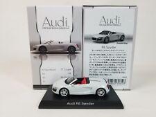1:64 Kyosho Audi Minicar Collection 2 R8 Spyder V10 FSI Suzuka Gray Karuwaza Ltd