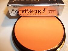 Mehron Orange Star Blend Cake Pancake Water Base Stage Makeup  Professional