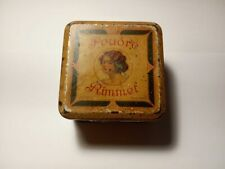 Vintage Poudre Rimmel London England Litho Powder Box Rare