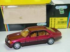 MERCEDES BENZ 600 SEL SCHABAK 1261 1/43 MADE IN GERMANY ROT ROUGE ROSSO RED